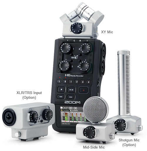 zoom h6 handy recorder III