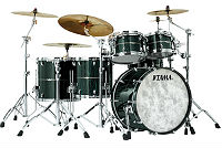 tama star drum dark green cordia