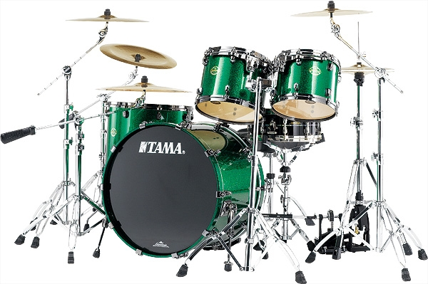 tama starclassic maple green sparkle