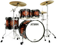 tama starclassic maple molton satin brown burst